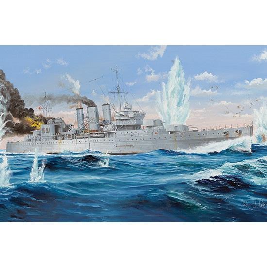 【新製品】05353 イギリス海軍 重巡洋艦 HMS コーンウォール