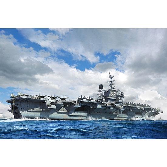 【新製品】06716 アメリカ海軍 航空母艦 CV-67 ジョン・F・ケネディ