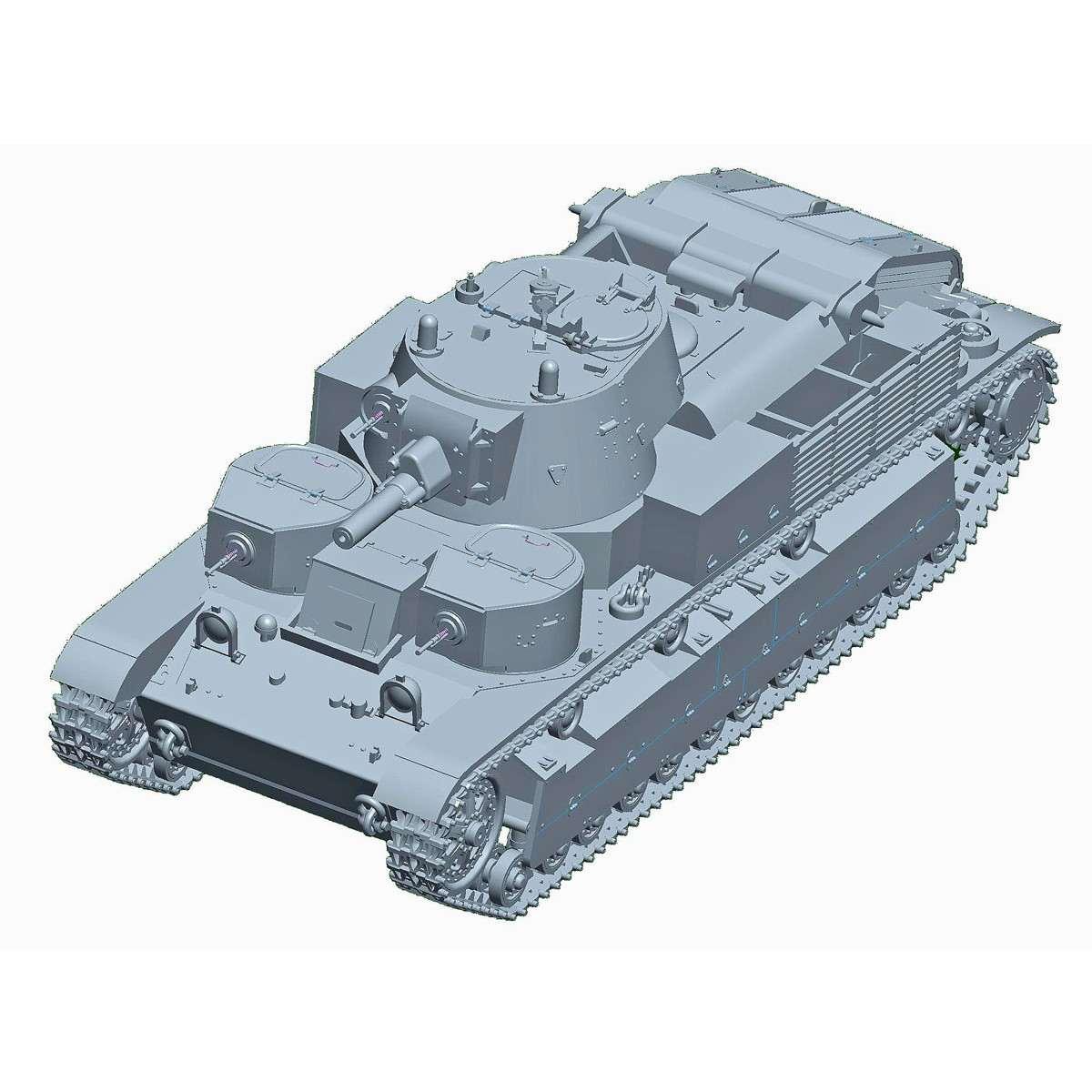 【新製品】07151 ソビエト軍 T-28多砲塔戦車(リベット仕様)