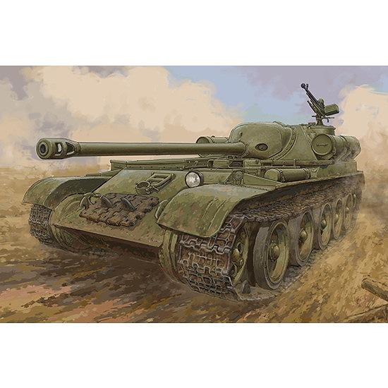 【新製品】09570 ソビエト軍 SU-102自走砲