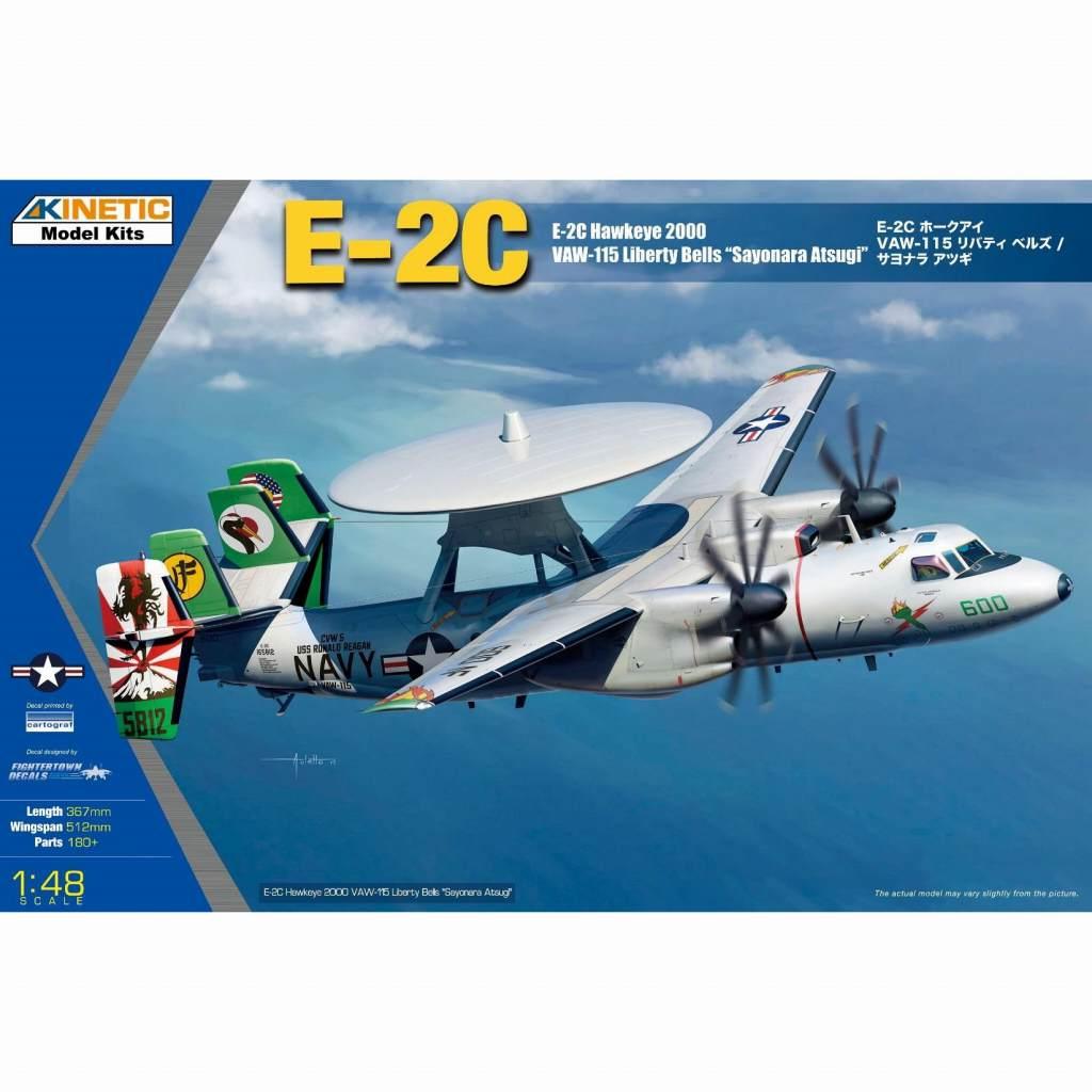 【新製品】K48066 E-2C ホークアイ2000 VAW-115 リバティーベルズ「サヨナラ アツギ」