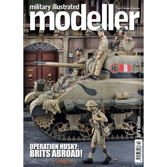 【新製品】ミリタリーイラストレイテッドモデラー090 OPERATION HUSKY:BRITS ABROAD!