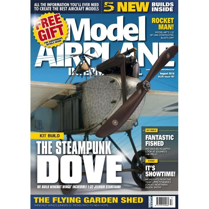 【新製品】モデルエアプレーンインターナショナル 157 THE STEAMPUNK DOVE
