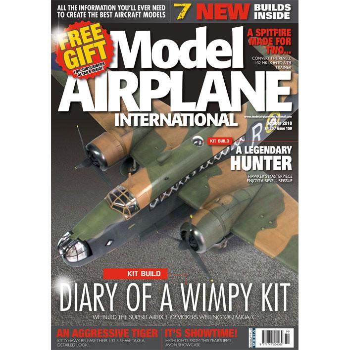 【新製品】モデルエアプレーンインターナショナル 159 DIARY OF A WINPY KIT