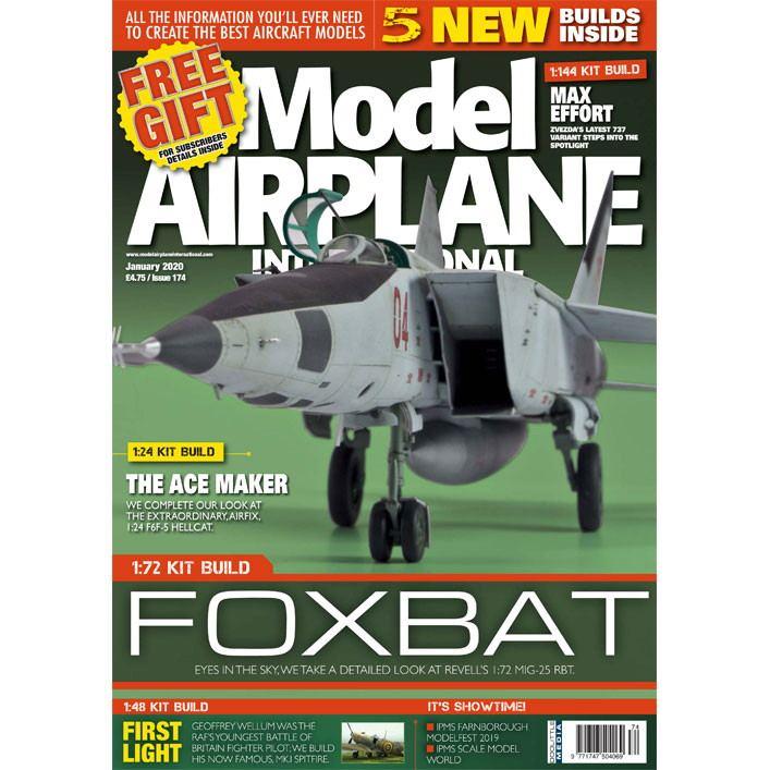 【新製品】モデルエアプレーンインターナショナル 174 FOXBAT