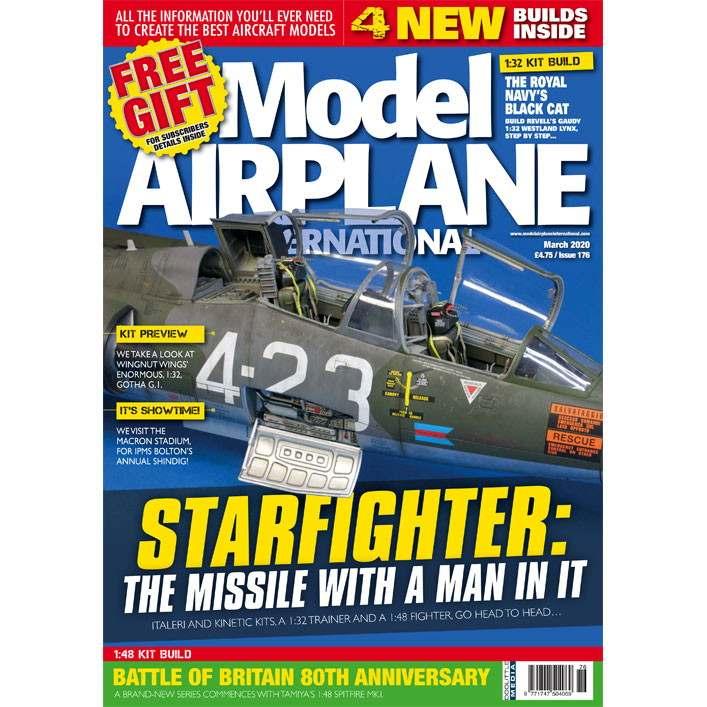 【新製品】モデルエアプレーンインターナショナル 176 STARFIGHTER