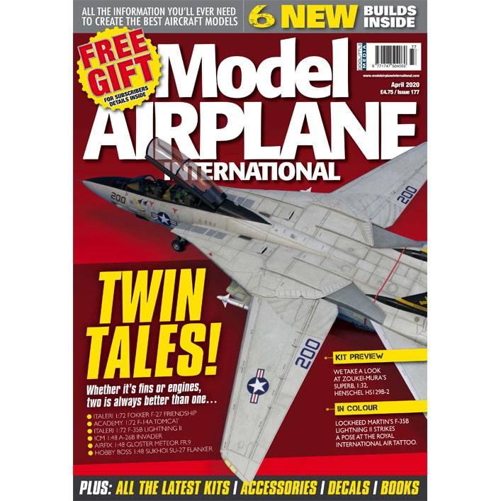 【新製品】モデルエアプレーンインターナショナル 177 TWIN TALES!