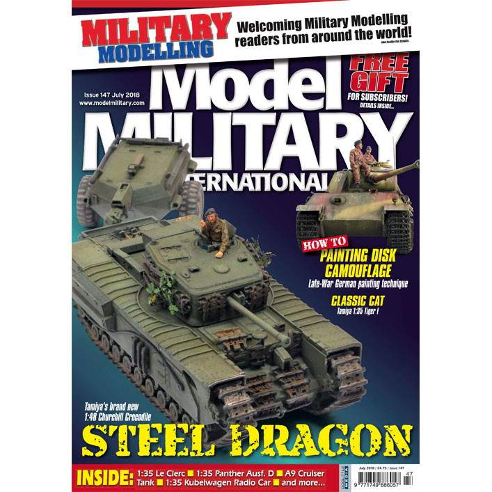 【新製品】モデルミリタリーインターナショナル 147 STEEL DRAGONS