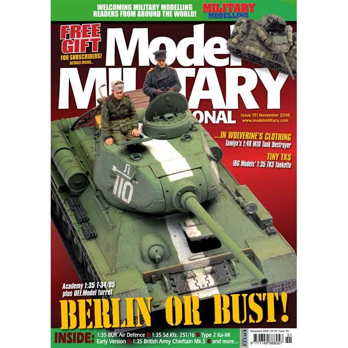 【新製品】モデルミリタリーインターナショナル 151 BERLIN OR BUST!