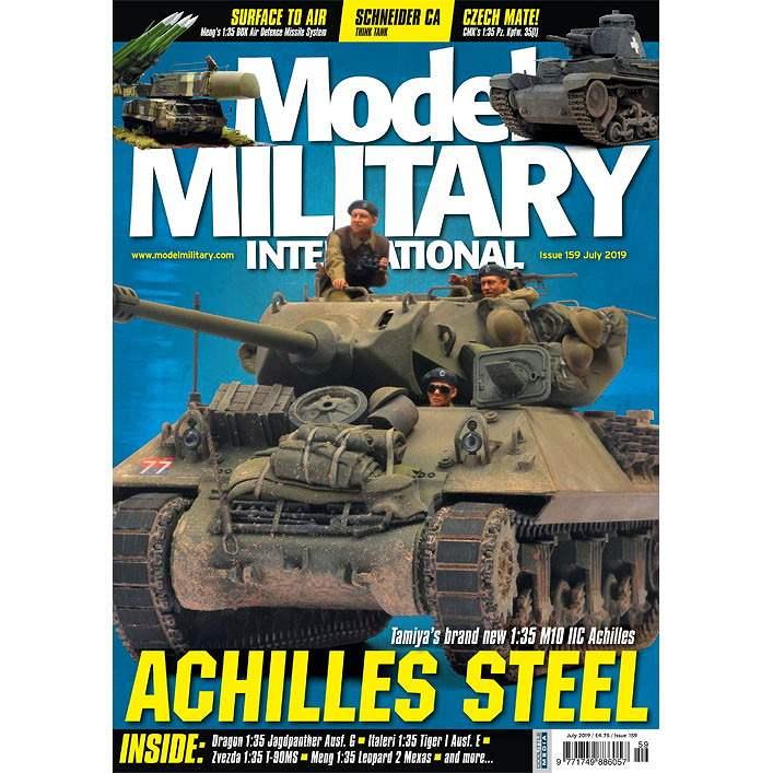 【新製品】モデルミリタリーインターナショナル 159)ACHILLIES STEEL