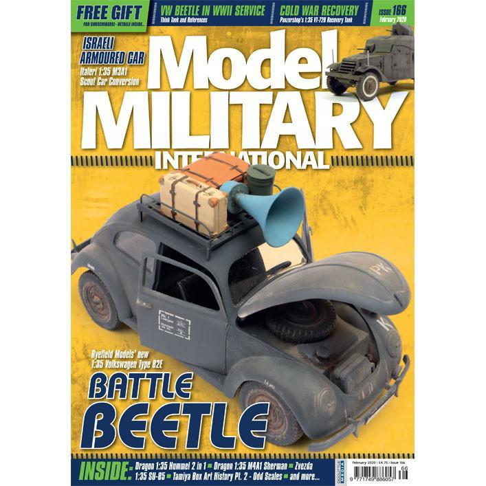 【新製品】モデルミリタリーインターナショナル 166 BATTLE BEETLE