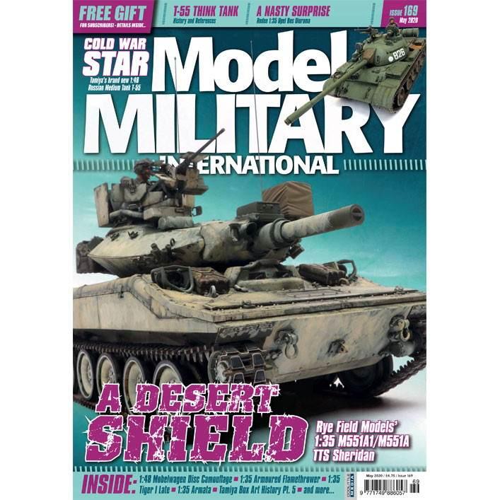 【新製品】モデルミリタリーインターナショナル 169 A DESERT SHIELD