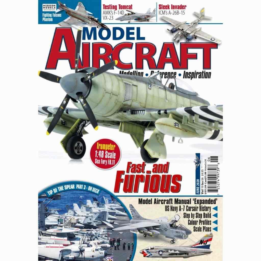 【新製品】MODEL Aircraft Vol.19-6 Fast and Furious