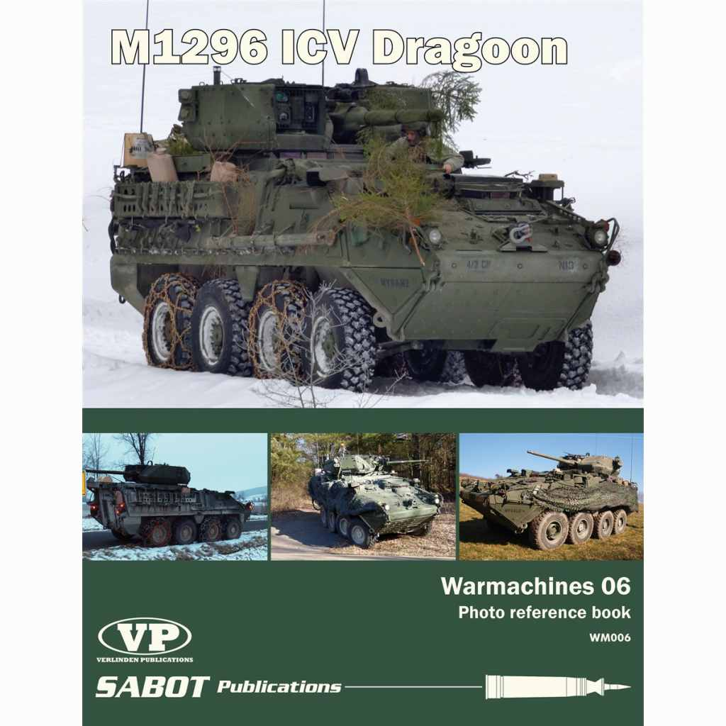 【新製品】WM006 M1296 ICV ドラグーン