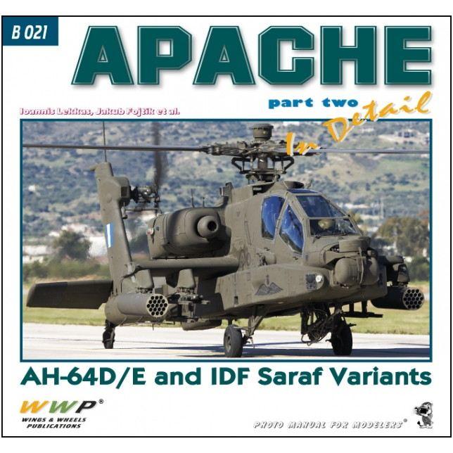 【新製品】B021 アパッチ ディティール写真集 Pt.2 D/E型&IDF Saraf