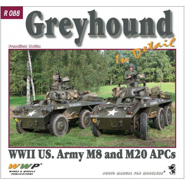 【新製品】R088 M8/M20 グレイハウンド 装甲車 イン・ディテール