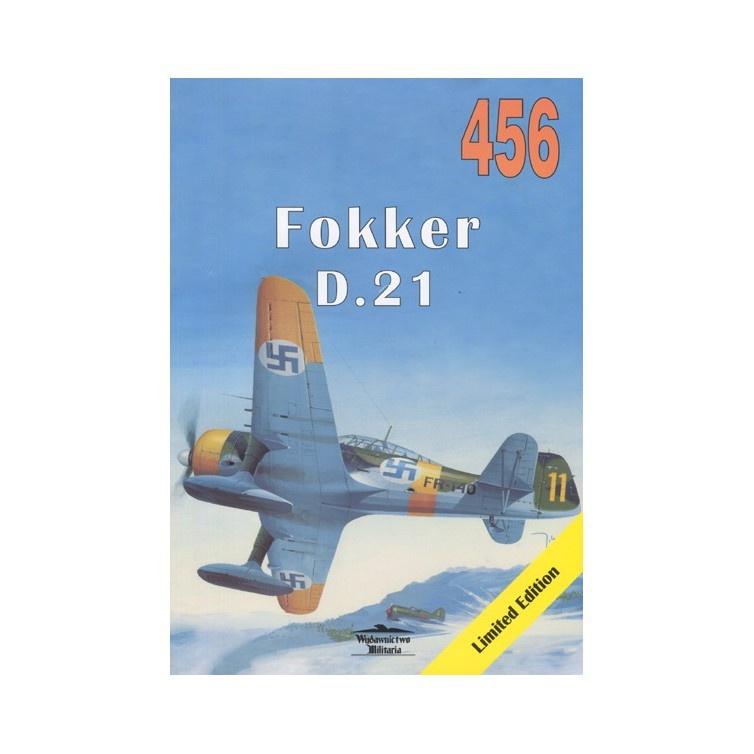 【新製品】456 フォッカー D.21