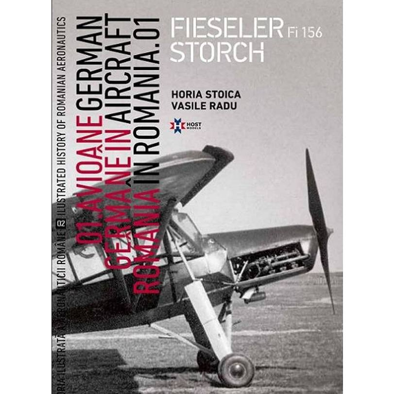 【新製品】ルーマニア空軍イラストレイテッド 02 ルーマニアのドイツ機 01 フィゼラー Fi156 シュトルヒ